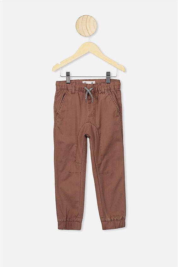 Logan Cuffed Pants, RUSTY BROWN