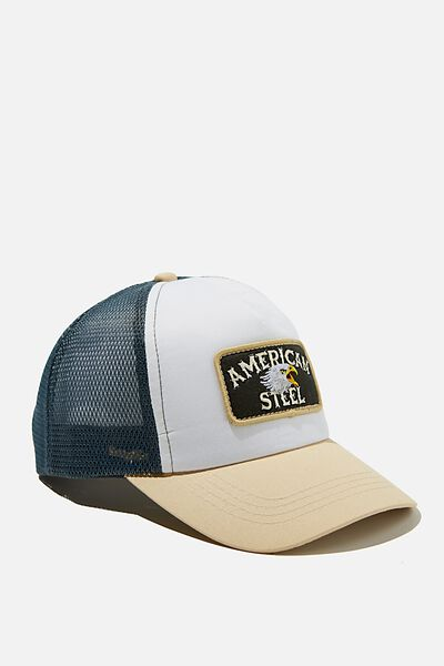Kids Trucker Cap, AMERICAN STEEL