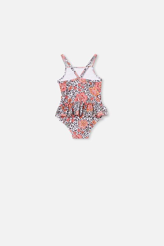 Lucinda Ruffle Swimsuit, FLORAL OCELOT