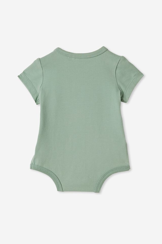 The Short Sleeve Bubbysuit, SMASHED AVO/STRONGER THAN YOU THINK