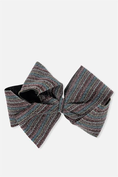 Statement Bows, LUXE STRIPE
