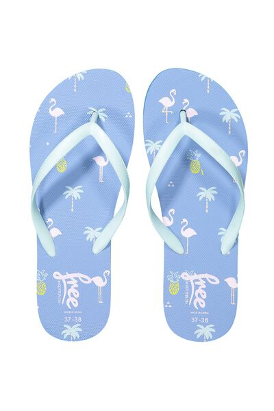 Free Flip Flops, G FLAMINGO FIELDS