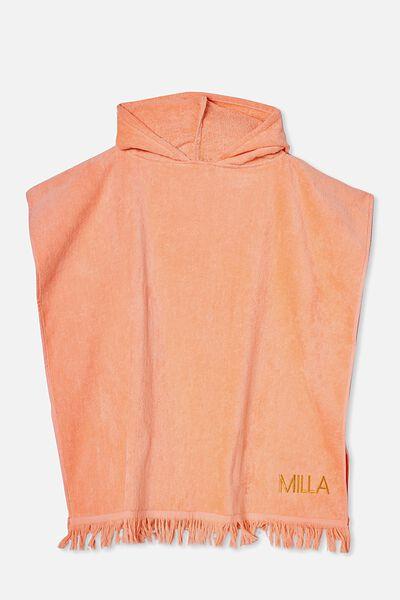 Hooded Towel -Personalised, 3D UNICORN