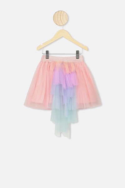 Trixiebelle Tulle Skirt, BLOSSOM PINK/UNICORN TAIL