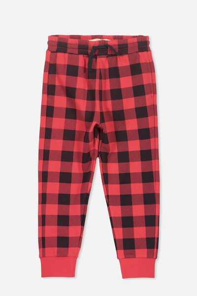 Lewis Trackpant, SOPHIE RED/CHECK