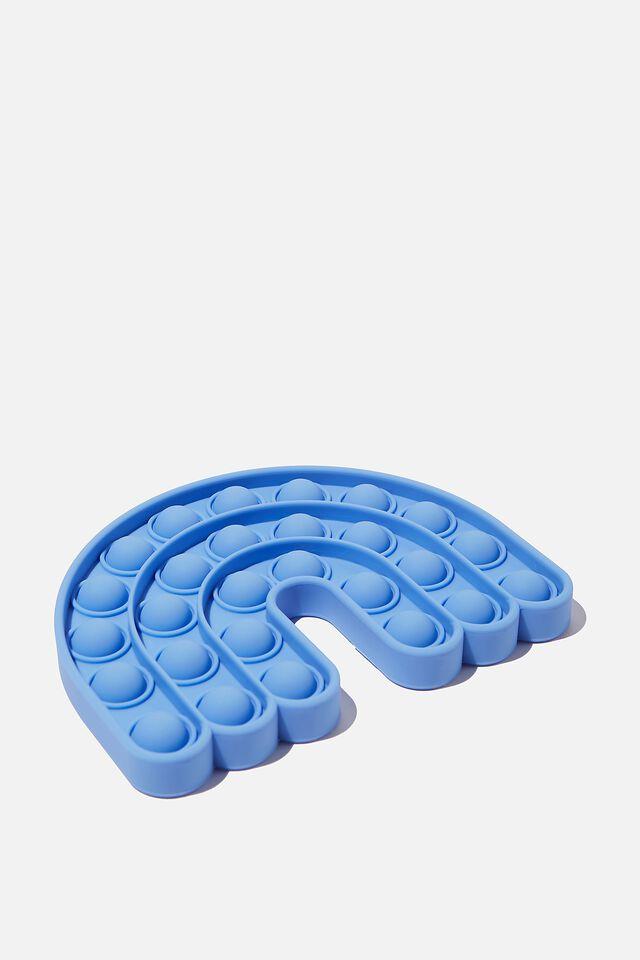 Snap Bubble Pop Fidget Toy, RAINBOW