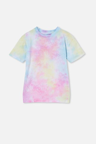 Scout Drop Shoulder Short Sleeve Tee, RAINBOW TIE DYE
