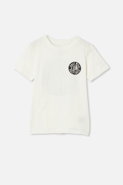 Max Skater Short Sleeve Tee, RETRO WHITE / HALF WILD