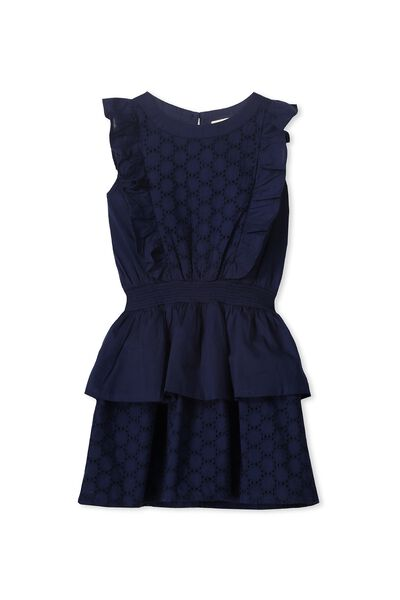 Amber Dress, PEACOAT
