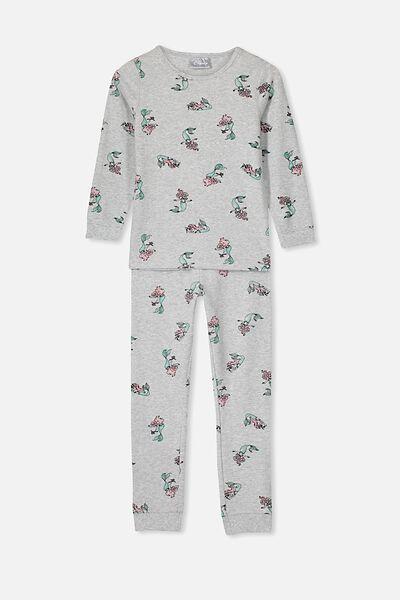 Lila Long Sleeve Pyjama Set, LCN DIS LITTLE MERMAID