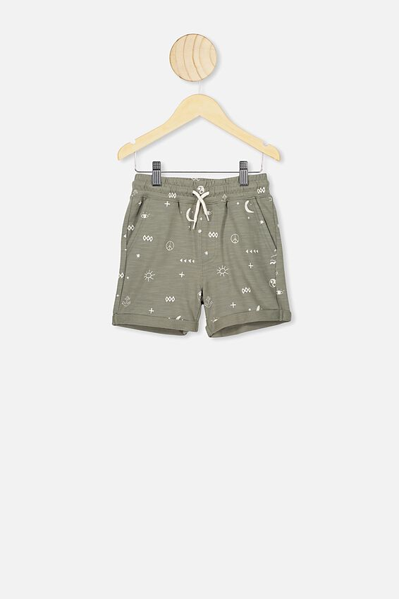 Henry Slouch Short, SILVER SAGE/ISLAND