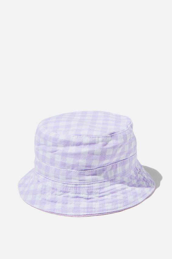 Reversible Bucket Hat, VINTAGE LILAC