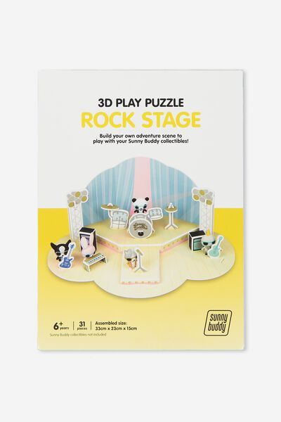 Sunny Buddy 3D Puzzle Play, STAGE