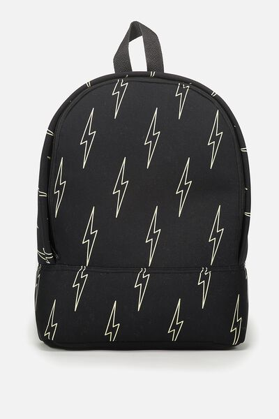 Fashion Backpack, LIGHTNING BOLTS