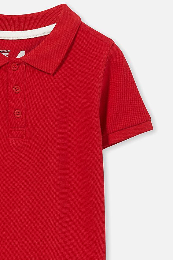 Kenny Polo Top, CLASSIC RED