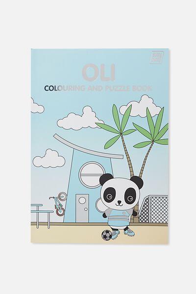 Sunny Buddy Colouring In Book, OLI