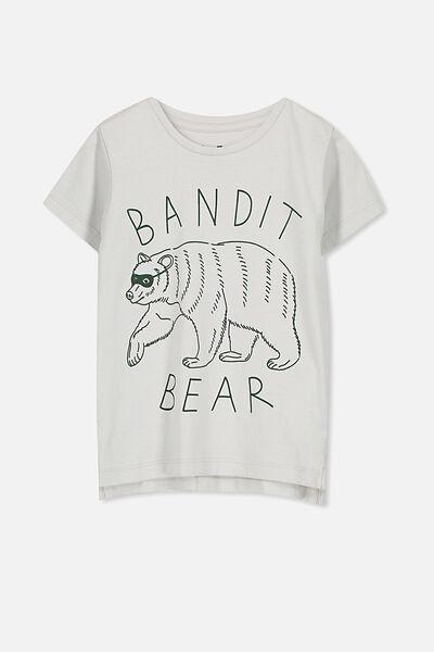 Max Short Sleeve Tee, BANDIT BEAR/SIS