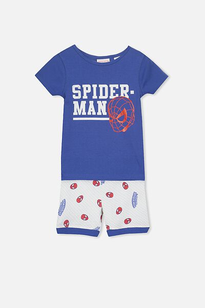 Joshua Short Sleeve Pyjama Set, LCN AMAZING SPIDERMAN