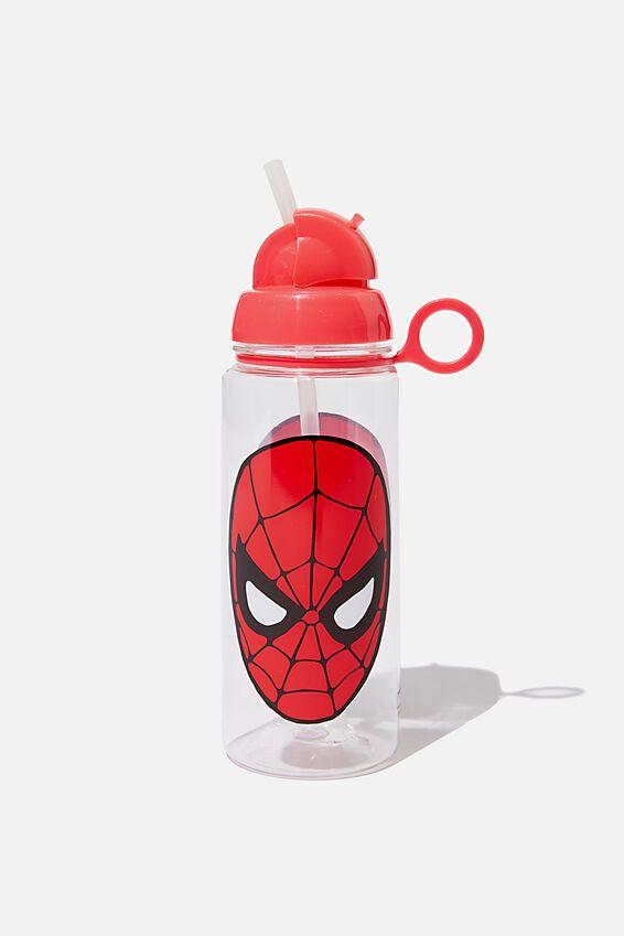 Spring Drink Bottle, LCN MAR SPIDERMAN FACE