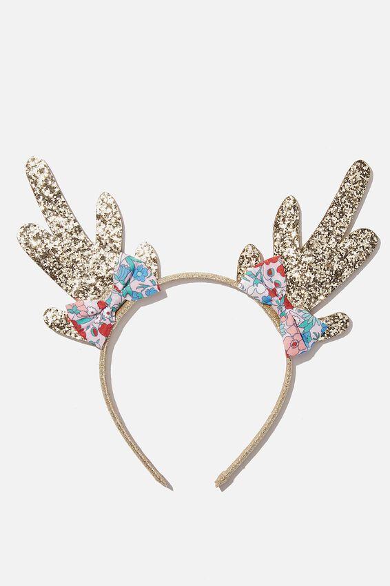 Headband- Reindeer, SPARKLY REINDEER