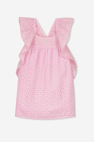 Dot Dress, FAIRYTALE PINK/BRODERIE
