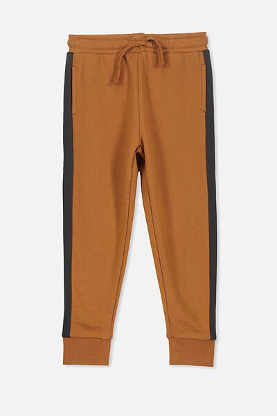 Lewis Trackpant, BROWN EARTH/PHANTOM SPLICE