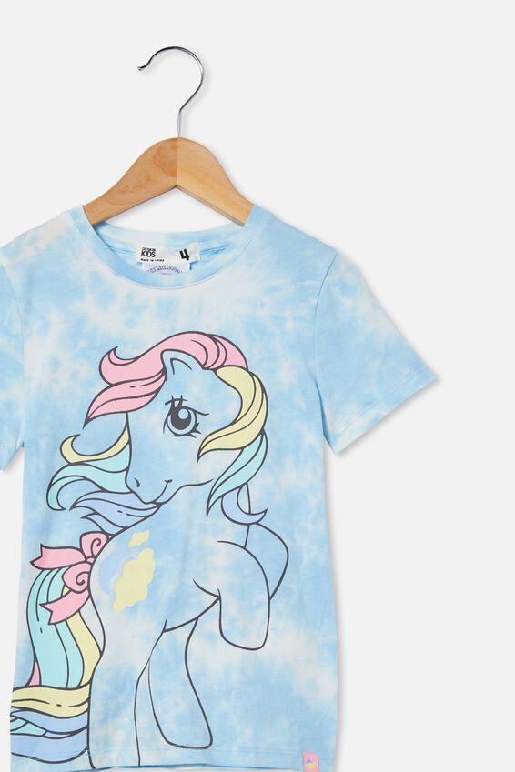 My Little Pony Short Sleeve Tee, LCN HAS MY LITTLE PONY/SKY HAZE TIE DYE