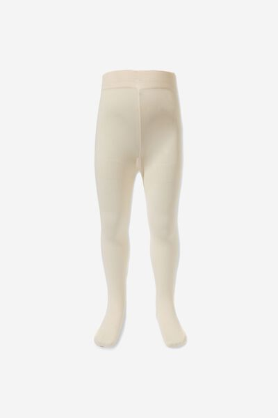 Baby Opaque Tights, NEW CREAM