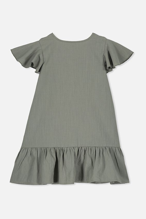 Lola Short Sleeve Dress, SILVER SAGE