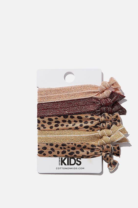 Knot Messy Hairties, NEW ANIMAL