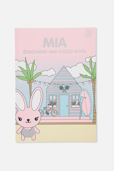 Sunny Buddy Colouring In Book, MIA