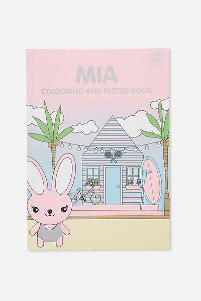Sunny Buddy Colouring In Book, MIA