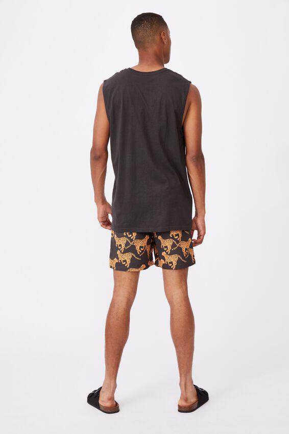 Kip&Co Mens Boardshorts, LCN KIP CHEETAH