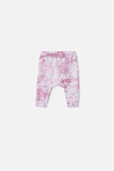 Charlie Trackpant, CHALKY MAUVE TIE DYE