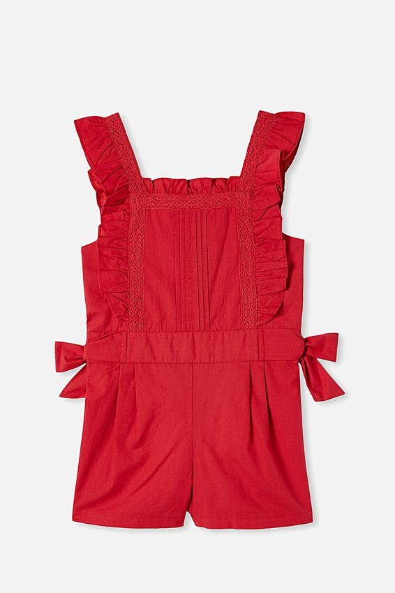 Ruby Playsuit, LUCKY RED