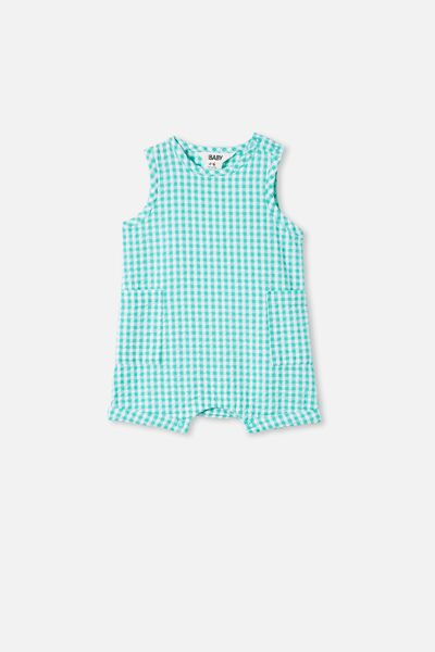 Tobias Romper, APPLE CRISP/MINI GINGHAM