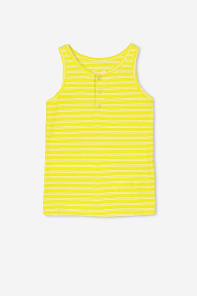Tilley Tank, SUNFLOWER YELLOW/WHITE