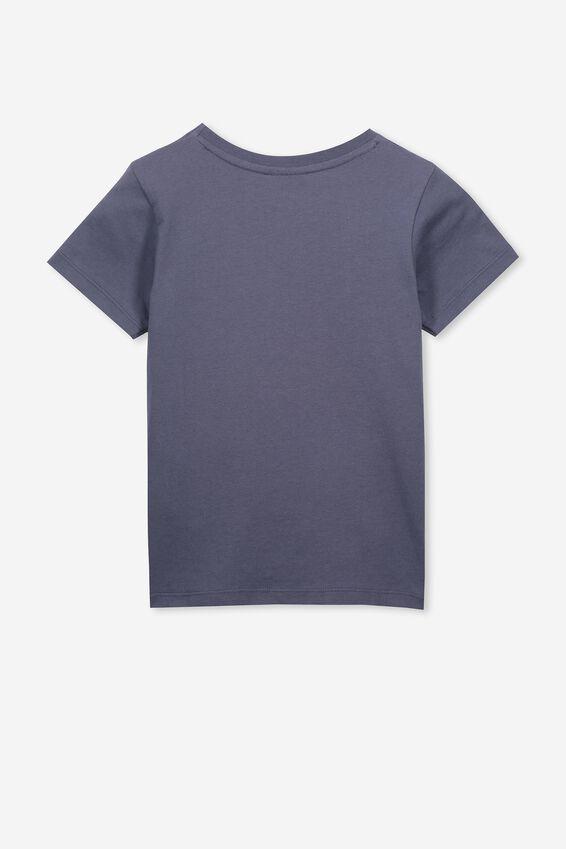 Lux Short Sleeve Tee, LCN DIS VINTAGE NAVY/ARIEL/MAX