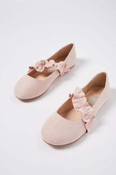 Ballet Flats, SOFT PINK RUFFLE
