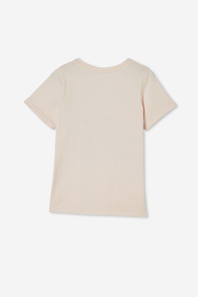 Penelope Short Sleeve Tee, CRYSTAL PINK/ KITTY MOOD