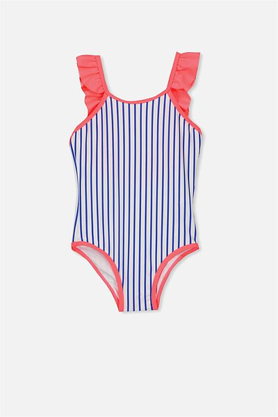 Alin One Piece, VANILLA/PRINCESS BLUE STRIPE