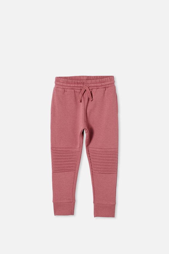 Lux Heritage Trackpant, VINTAGE BERRY/MOTO