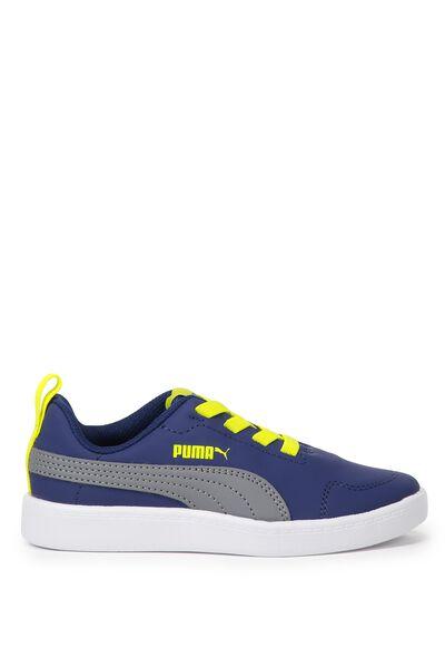 Courtflex Mesh Puma, BLUE DEPTHS-STEEL GREY