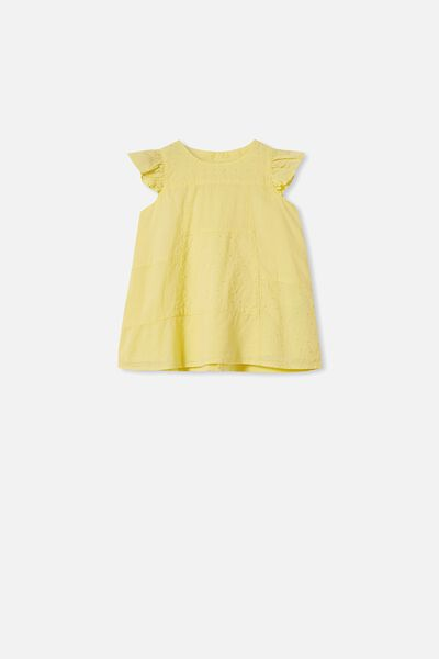 Mabel Dress, LEMON DROP