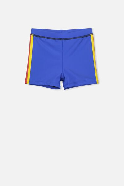 Billy Boyleg Swim Trunk, ULTRA BLUE/SIDE STRIPE