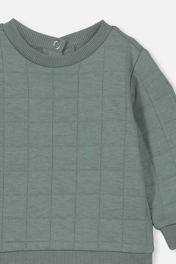 Scout Quilted Sweater, STORMY SEA