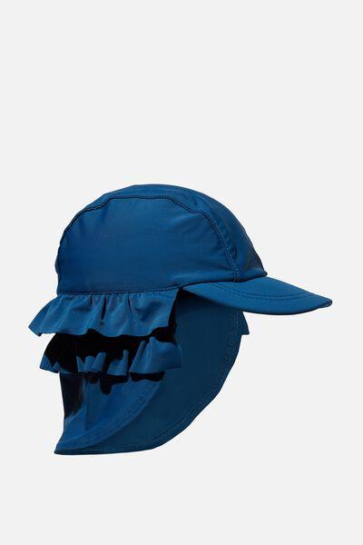 Swim Hat, POSEIDON BLUE