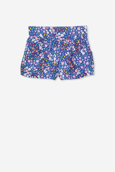 Callie Short, DITSY FLORAL/FRENCH BLUE
