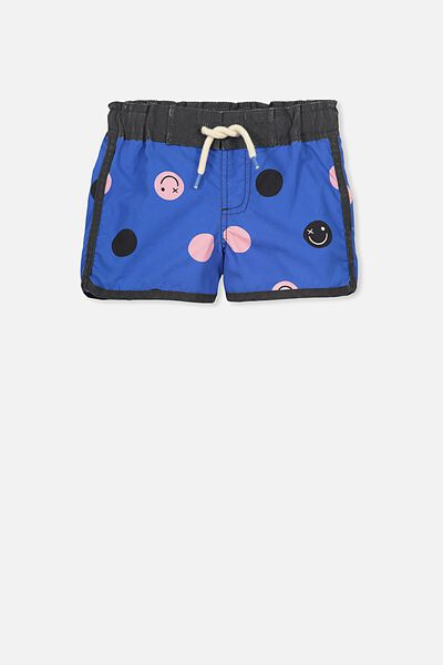 Benny Boardshort, YARD BLUE/SMILEY FACE