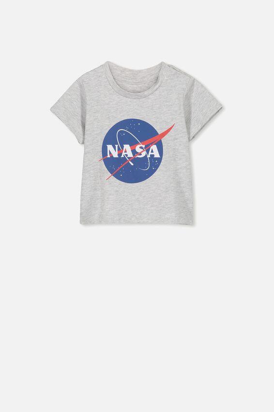 Jamie Short Sleeve Tee, LCN NAS CLOUD MARLE/NASA